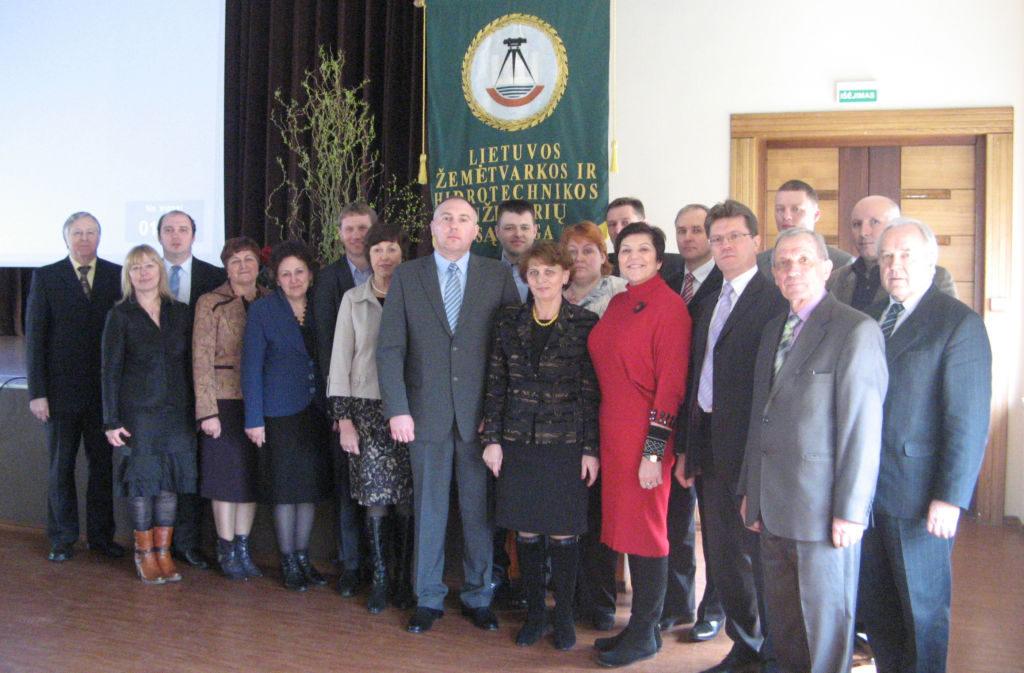 2013 m. balandžio mėn.sąjungos konferencijoje išrinkta taryba
