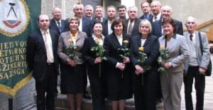 2009 m. gegužės mėn. sąjungos konferencijoje išrinkta taryba