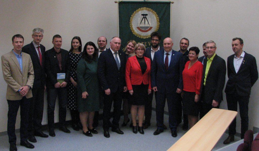 2019 m. balandžio mėn. sąjungos konferencijoje išrinkta taryba